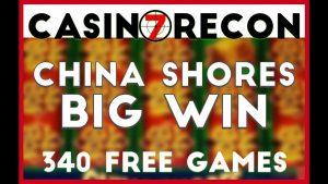 China Shores Jackpot BIG WIN 340 FREE GAMES! – Casino Recon