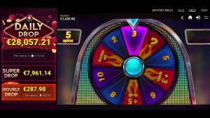 Mystery reels – huge win 4000€ win at casino