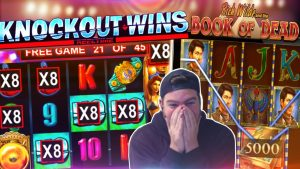BIG KNOCKOUT WINS! Plus Book of Dead Bonus!