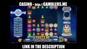 😍 5600€ BIG WIN IN ONLINE CASINO 7€ bet 😍 MASSIVE WIN SLOT MACHINE Reactoonz3
