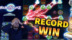 RECORD WIN!!! Reactoonz Huge Win – BIG WIN on Online Slots from MrGambleSlots