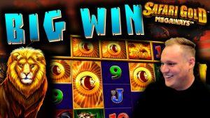 2 Bonuses in 1 BUY!? – Safari Gold Megaways