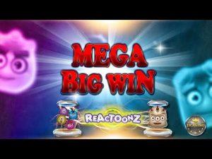 MEGA BIG WIN BEI REACTOONZ (PLAY'N GO) - 5 € EINSATZ!