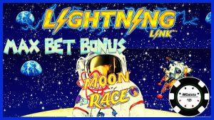 ⚡️HIGH LIMIT Lightning Link MOON RACE ⚡️ $ 25 최대 베팅 보너스 슬롯 머신 CASINO