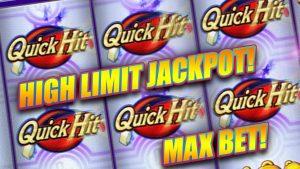 QUICK HIT PROGRESSIVE ★ HIGH LIMIT JACKPOT ➜ SLOT MACHINE BONUSES & BIG WINS!