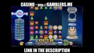 😍 5600€ BIG WIN IN ONLINE CASINO 7€ bet 😍 MASSIVE WIN SLOT MACHINE Reactoonz4