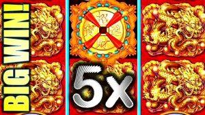★BIG WIN! 5X DRAGON BOOST!★ 5 SEA LEGENDS (FU LAI CAI LAI) Slot Machine Bonus (ARUZE)