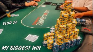 MY BIGGEST WIN EVER!! 4 FLUSHES, 4 SETS!!    Poker Vlog #20