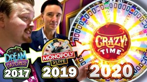 CRAZY TIME – Exclusive Look Into The New Game Show From Evolution Gaming 😱 | Vlog 48