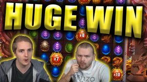 HUGE WIN on DRAGONFALL – Casino Slots Big Wins