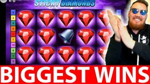 Streamers Biggest Casino Wins #22 CLASSY BEEF HUGE WIN STICKY DIAMONDS