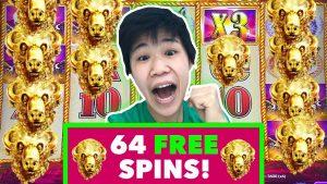 🔥Did we get 15 BUFFALO HEADS?🔥64 Free Spins!🔥BONUS BIG WIN Buffalo Gold Slot Machine Simon Cleath