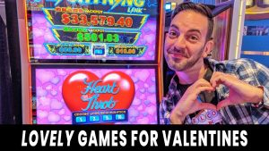 💗 LOVE-LY Slots For Valentine's Day! 💎 I LOVE BIG WINS! 💸 @ Hard Rock Atlantic City 🎸#ad