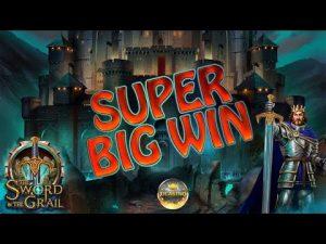 SUPER BIG WIN BEI THE SWORD & THE GRAIL (PLAY'N GO) – 5€ EINSATZ!