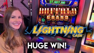 HUGE WIN! Awesome Run of BONUSES! Lightning Cash Slot Machine!