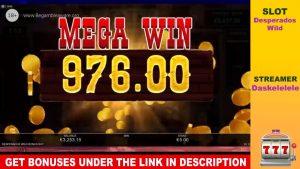 BIGGEST CASINO WINS | INSANE WIN DASKELELELE DESPERADOS WILD SLOT