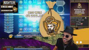 ROSHTEIN Menangkan 35 € pada slot Sword of Khans, Bonus Epic Hunt on Stream