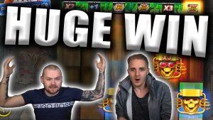 HUGE WIN on PUNK ROCKER – Casino Slots Big Wins