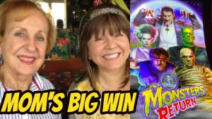 BIG WIN & SCARY BONUSES ON MONSTERS RETURN