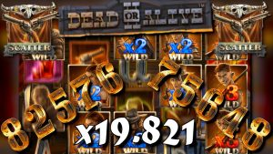 x19.821 win / MY BIGGEST WIN EVER! – Dead or Alive 2 free spins compilation! #3