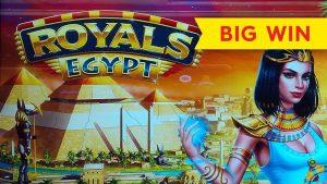 VERY RARE BONUS! Royals Egypt Slot – BIG WIN, LOVED IT!