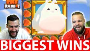 BIGGEST CASINO WINS #10 THE MOST EPIC WIN FAT RABBIT SLOT CRAZY