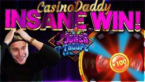 IRBIEH INSANE! Joker Troupe Rebħa kbira - REBĦA ENORMIJA minn Casinodaddy LIVE STREAM