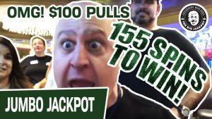 😱 155 se învârte! 100 $ XNUMX PULLS pe Wheel of Fortune GROUP SLOT PULL