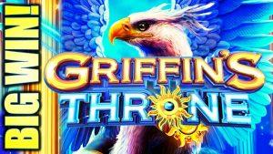 ★ MA $$ IVE BIG WIN! ★ ELSKA ÞETTA SPIL !! THRONE SLOT Vél Griffins (IGT)
