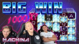 GRAN GANANCIA Machina: GRAN GANANCIA con una apuesta baja de CasinoDaddy Live Stream