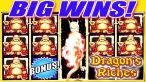 ★ AWESOME BIG WIN!! ⚡⚡ NEW LIGHTNING LINK 🐲 DRAGON'S RICHES Slot machine | Slot Traveler