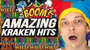 Online Slots BIG WINS: Leprechaun Goes Wild, Money Train HUGE bonus, Kraken