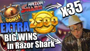 Streamer mega win 31.000 € on Razor Shark – Top 5 Big wins in casino slot