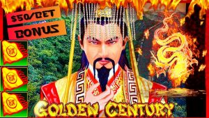🐲HIGH LIMIT Dragon Link Golden Century 🐲$50 BONUS ROUND Slot Machine Casino