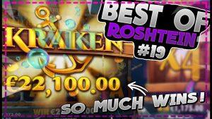SO MUCH BIG WINS! | Best of Roshtein #19