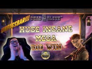 UNFASSBAR!!! HUGE INSANE MEGA BIG WIN BEI DEAD OR ALIVE 2 (NETENT) – 4.50€ EINSATZ!