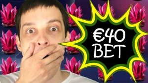 € 40 BET SPACE WARS CRYSTALS - MON PLUS GRAND GAGNER JAMAIS!