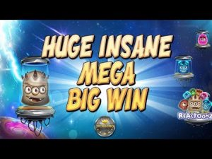 HUGE INSANE MEGA BIG WIN BEI REACTOONZ (PLAY'N GO) – 5€ EINSATZ!