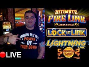 $3,500 Live Slot Play At Casino W/NG SLOT ! Harrah's Casino SD