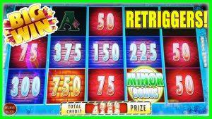 BIG WIN MINOR! HUFF N' PUFF LOCK IT LINK SLOT MACHINE | BONUS RETRIGGERS | LIVE SESSION