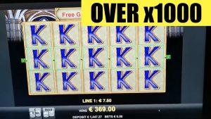 BIG WIN OVER x1000 on SLOT MAGIC MIRROR by MERKUR