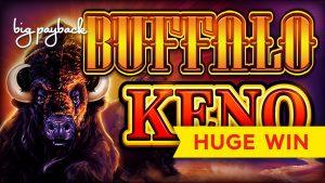8X CÂȘTIGĂTOR MULTIPLIER! Buffalo Keno - NU POT CREDE!