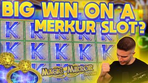BIG WIN ON MAGIC MIRROR DELUXE II | WE HIT BIG ON A MERKUR SLOT ?