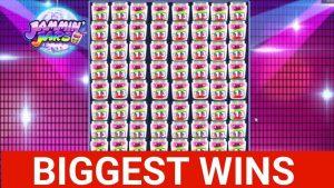 Biggest Streamers Wins #5 INSANE JAMMIN JARS Big win & Slot machine
