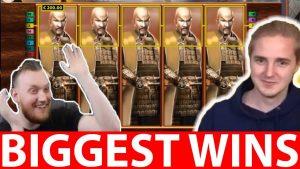 Biggest Streamers Wins #19 Daskelelele Big WIN in Online casino, Reactoonz Slot