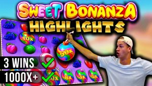 Big Win Highlights on Sweet Bonanza