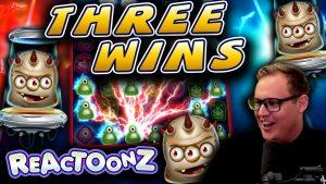 Three Reactoonz Big Wins!