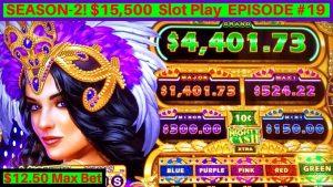 NEU Mighty Cash Vegas gewinnt Slot BIG WIN | Maximaler Einsatz von 12.50 $ | Staffel 2 EPISODE # 19