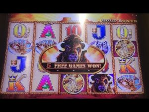 BIG BONUS JACKPOT | How to Win on Buffalo Gold Casino Slot Machine Max Bet | Super Big Win