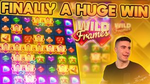 HUGE WIN ON WILD FRAMES | THIS SLOT FINALLY DELIVERED SOMETHING!
